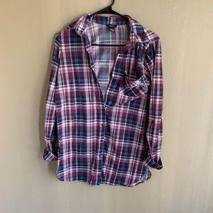 Rue 21 Plaid Shirt